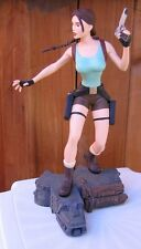 """12"""" LARA CROFT TOMB RAIDER STEVE VARNER Statue Figure #791 CORE EIDOS Game Jolie"""