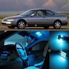 Ice Blue Light Bulb SMD Interior LED Package For Honda Accord Coupe Sedan 94-97