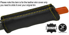 YELLOW STITCH E BRAKE HANDLE LEATHER COVER FITS PONTIAC FIERO GT SE V6 1984-1988