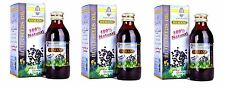 3 X Black Seed Oil 100% Pure Virgin Cold Pressed Kalonji Nigella Sativa Hemani