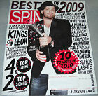 Spin Magazine January/February 2010 Best of 2009 Caleb Followill Kings of Leon