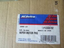 New Old Stock GM OEM ACDelco 12368702 Wiper Motor Package (13-E1)