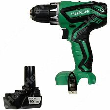 "New Hitachi DS10DFL2 3/8"" 12V Li-Ion Drill Driver w/ BCL1015S 12V Li-Ion Battery"