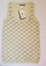 Lacoste Women Vest top light green  European size 36/ usa size 4