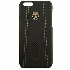 Genuine Lamborghini AVENDATOR D2 Carbon Leather Back Cover Case for iPhone 7