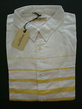 Bnwt levi's made and crafted bouton chemise-taille 4 (xl) - rrp £ 130-super-lvc