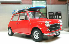 Austin Rover Mini Classic Cooper Surf Board G 1:24 Scale Diecast Detailed Model