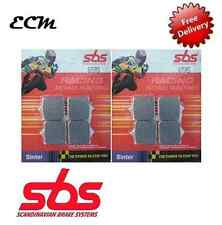 BMW S 1000 RR 2014 - SBS FRONT BRAKE PADS - RACING SINTER - 870RS