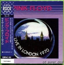 PINK FLOYD - LIVE IN LONDON 1970 CD MINI LP OBI