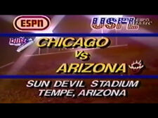 1983 USFL Regular Season Football DVD Chicago vs Arizona ALLEN LANDRY  Free Ship