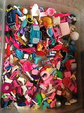 Vtg 80s 90's lot of Barbie doll food & accessories Boombox Shoes Toys