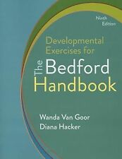 Developmental Exercises For The Bedford Handbook by Diana Hacker