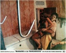 TOBE HOOPER THE TEXAS CHAIN SAW MASSACRE 1974 VINTAGE LOBBY CARD ORIGINAL #3