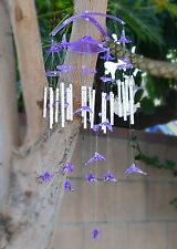 Dolphin Windchimes Tuned Handcrafted Large Wind Chime with 20 Metal pipes