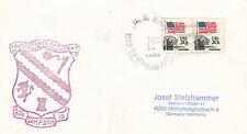 GUIDED MISSILE DESTROYER USS SAMPSON DDG 102 A SHIPS CACHED COVER DATED 1992