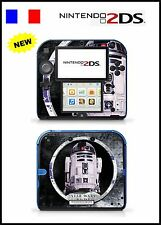 SKIN STICKER AUTOCOLLANT DECO POUR NINTENDO 2DS REF 67 STAR WARS R2D2
