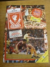 16/09/1989 Liverpool v Norwich City [Championship Season] . Thanks for viewing o