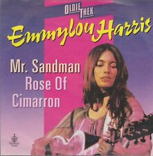 "7"" Emmylou Harris Mr. Sandmann / Rose Of Cimarron (Oldie) Warner Bros"