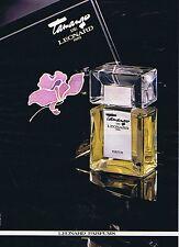 PUBLICITE ADVERTISING 114 1979 LEONARD parfum Tamango