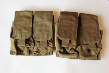 Eagle Industries M4 Double Double Mag Pouch Molle Coyote Brown USMC lot of 2