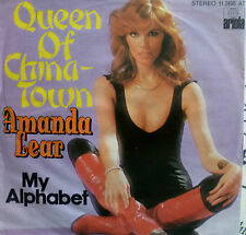 "7"" 1977 KULT IN MINT-! AMANDA LEAR : Queen Of Chinatown"