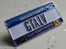 $$$$Grand theft auto IV liberty city GTA1V Pin Insignia Rockstar Games $$$$$$$$