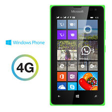 Microsoft Lumia 435(UNLOCKED) 4G 8GB Windows phone Green (Available in 4 Colors)