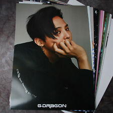 BIGBANG G-DRAGON GDRAGON GD 12cut Posters Collection Bromide + A3 PHOTO STICKER