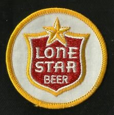 Vintage Lone STAR Beer Collectors Patch - New Old Stock