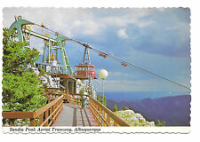 Albuquerque Sandia Peak Aerial Tramway Cable Car New Mexico Vtg Postcard 4X6 NM