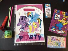 My Little Pony Pre Filled Goody Bag, Ready Made Birthday Party Loot Favours
