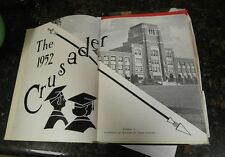 1952 Southeast High School yearbook Kansas City, MO Year Book Crusader
