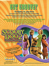 SCOOBY DOO THE MOVIE 2 TRADING CARDS SELL SHEET