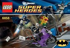 LEGO 6858 BATMAN: CATWOMAN CATCYCLE CITY CHASE - DC UNIVERSE SUPER HEROES