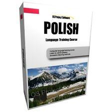 Aprende a hablar idioma polaco curso de formación Pc Dvd Nuevo