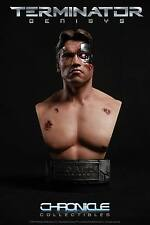 1984 Terminator GENISYS Battle Damaged 1:2 SCALE BUST T-800 Chronicle Arnold