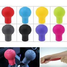 1Pcs Black Soft Bump Silicone Nonslip Car Shift Knob Gear Stick Cover Protector