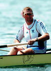 Matthew PINSENT Signed Autograph 16x12 Olympic Rower Gold Medal Photo AFTAL COA