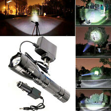 3000LM CREE XM-L T6 LED Rechargeable Flashlight Torch Lamp with Charger 5 Modes