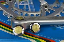 Dust caps for Vintage campagnolo 50th anniversary crankset steel chrome record