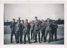 5 x Foto, Rekrutenzeit in  Pardubitz, Pardubice, Tschechien, 1940 (W)1449