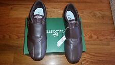 NEW LACOSTE FUTURSTPMC CASUAL SNEAKERS LEATHER MEN`S SHOES SIZE 13.M