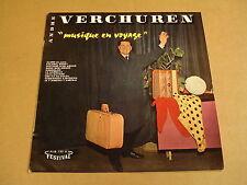 """ACCORDEON 10"""" LP / ANDRE VERCHUREN - MUSIQUE EN VOYAGE"""
