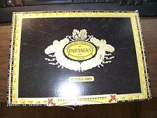 FLOR DE TABACOS DE PARTAGAS BLACK LABEL GIGANTE Wood Cigar Box