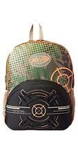 NEW Nerf Boys' Team Camo Backpack School Travel Play Camping Raised Target