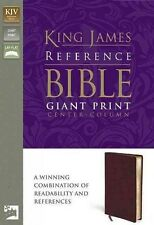 KING JAMES VERSION GIANT PRINT REFERENCE BIBLE -  (PAPERBACK) NEW
