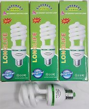 6 x Daylight Low Energy Saver Saving Light Bulb Bulbs Lamp Lamps E27 30W 12V