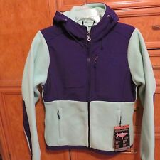 Women's The North Face Denali hoodie green Purple jacket S brand new NWT $199
