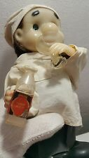 VINTAGE DRINKING DOCTOR TOY STRAUME PLASTIC BATTERY OPERATED 70' CCCP RUSSIA