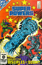 Super Powers #1 - July 1984 - Jack Kirby art - Who are the Disciples of Doom?